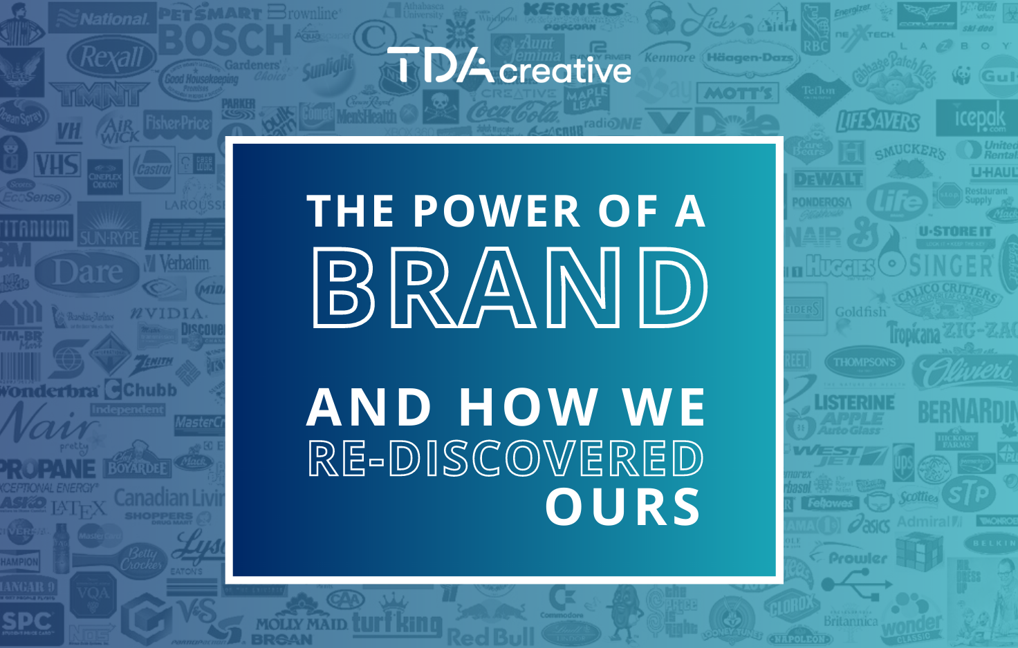The power of a BRAND (and how we re-discovered ours)